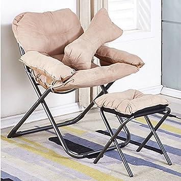 Amazon.com: Silla reclinable acolchada con reposapiés ...