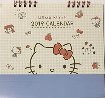 610fea5f0e3e Amazon.com   Sanrio Hello Kitty 2019 Desk Ring Japanese Calendar 12 ...