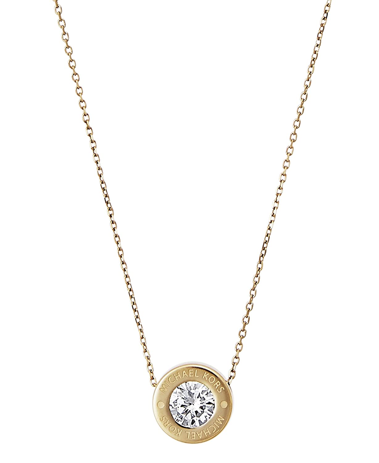 Michael Kors Women's Gold Necklace MKJ5340710 i1szvU
