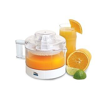 Elite Cuisine ETS-401 Maxi-Matic - Exprimidor de cítricos 1 L blanco: Amazon.es: Hogar