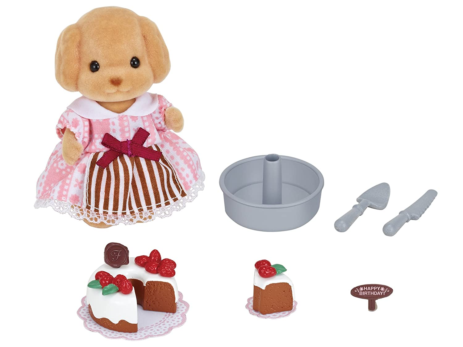 Calico Critters Cake Decorating Set CC1740