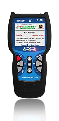 Innova 3150f is an OBD2 scan tool that everyone should have in their toolbox