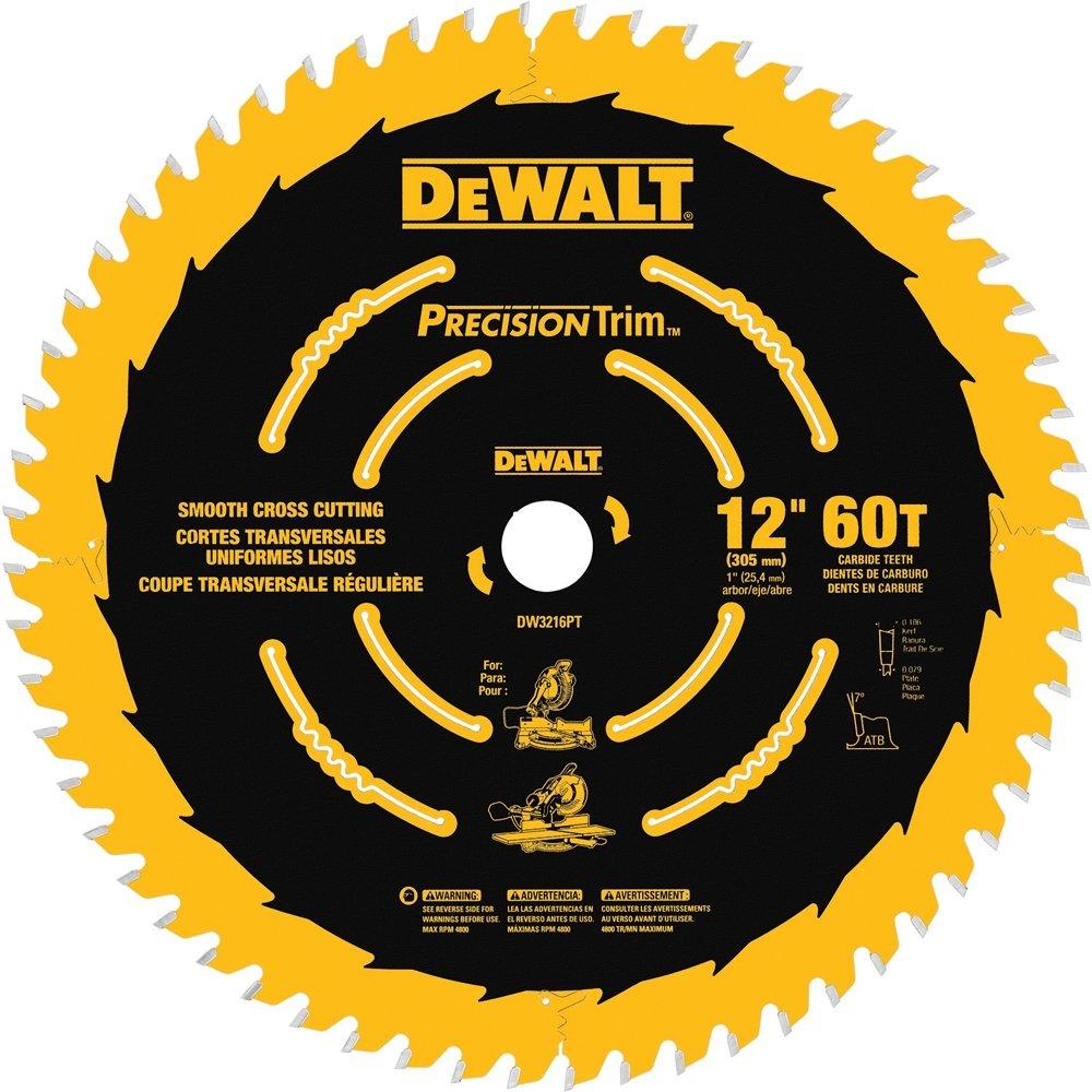 Disco Sierra DEWALT 12 x 60T Ingleteadora Precision Trim A