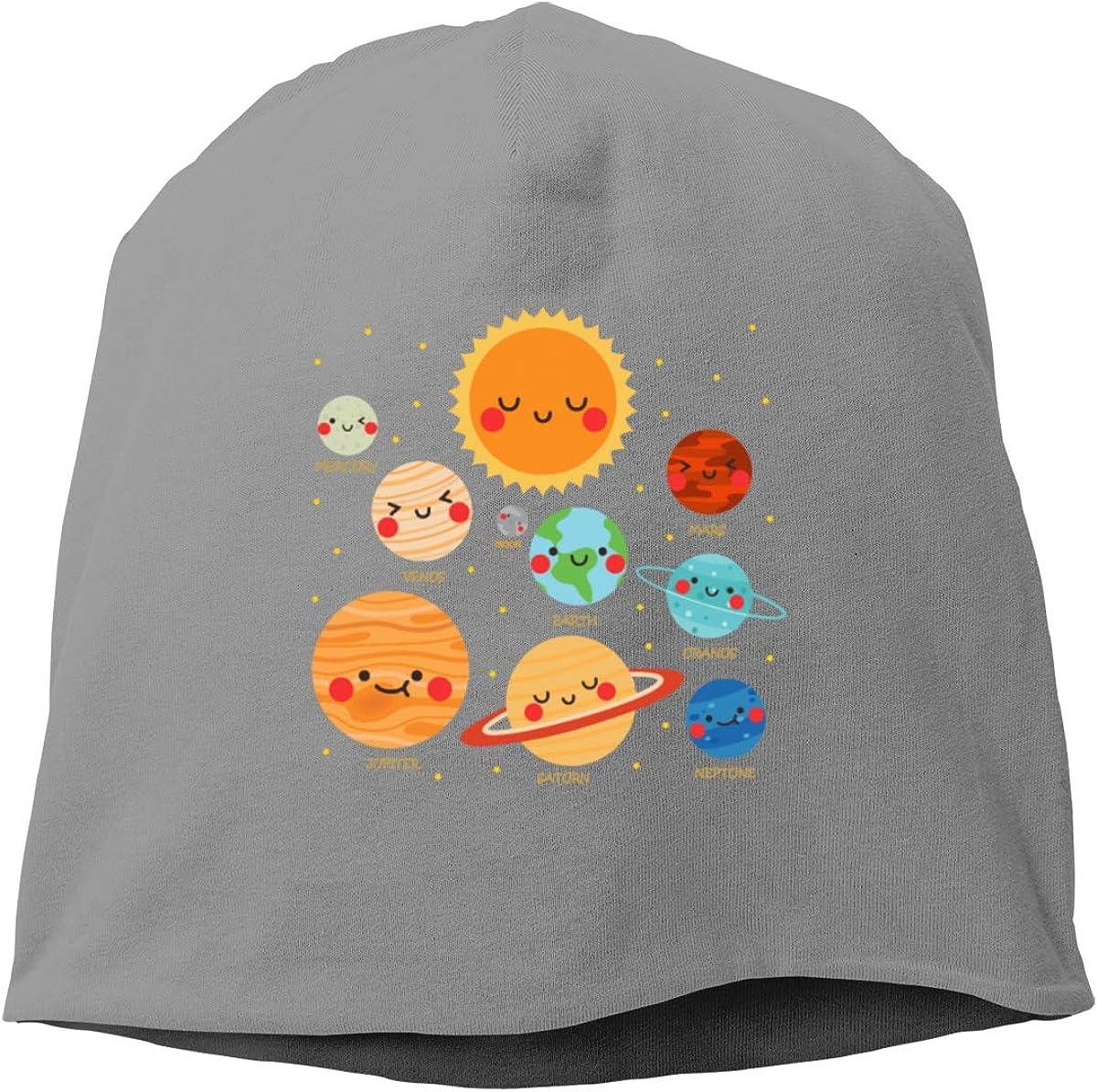 Negi Kids Solar System Beanie Caps Beanie Hats for Unisex