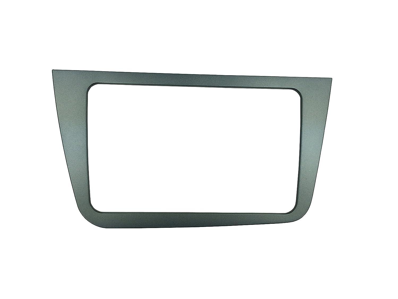 U.K Right Hand Drive MAXIOU Double Din Car Radio Fascia for SEAT Altea Stereo Face Plate Frame Panel Dash Mount Trim Kit Adapter Bezel facia