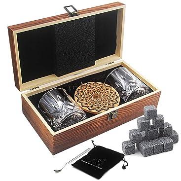 Compra AYAOQIANG Juego de Vasos de Whisky - 16 Caja de Regalo de ...