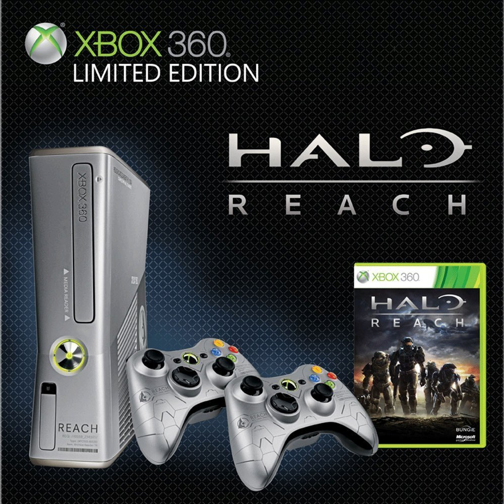 Xbox 360 Slim Limited Edition 250GB Halo Reach: Amazon co uk