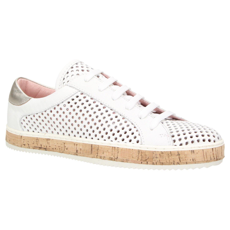 ZWEIGUT Komood #333 - Zapatos con Cordones de Piel Lisa Mujer 38 EU|Weiß
