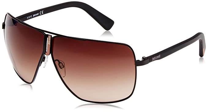 Roberto Cavalli - Gafas de sol Aviador JC507, Brown (Black ...