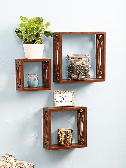 Woodkartindia Modern Design Wooden Wall Shelves/Wall Bracket/Wall Shelf for Home Decor�