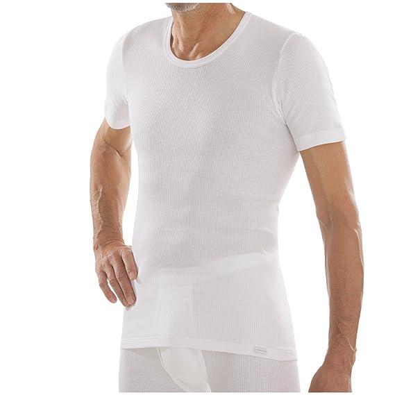 comazo Herren platin Unterhemd kurzarm Doppelripp  Amazon.de  Bekleidung d8da202524