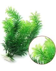 Plantes artificielles en plastique pour Aquarium Fiah Tank ornements décor