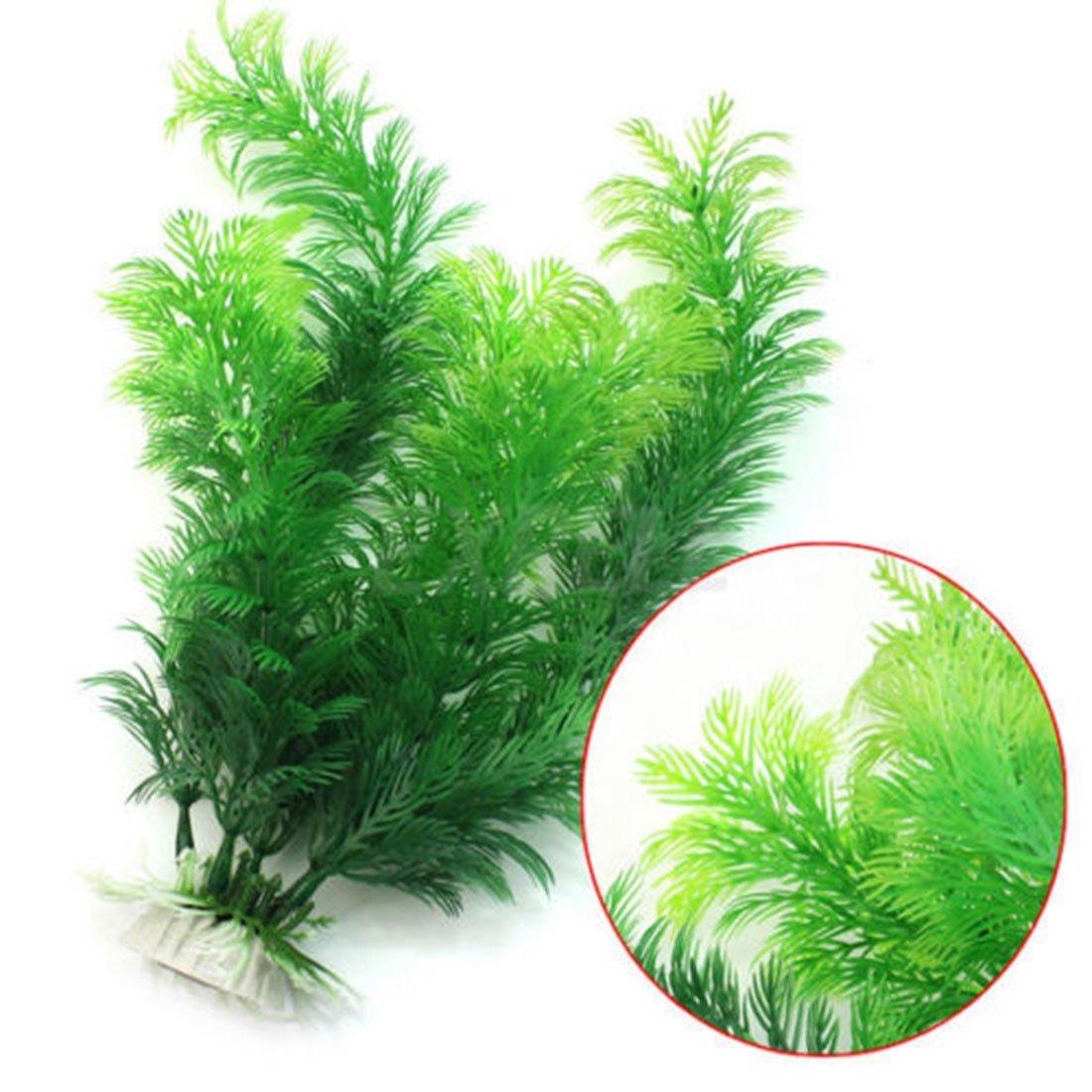 Plantes artificielles en plastique pour Aquarium Fiah Tank ornements décor Luwu-Store