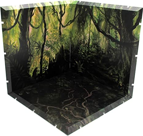 photo relating to Diorama Backgrounds Free Printable called : PLM Dioramansion 150: Jungle Determine Diorama