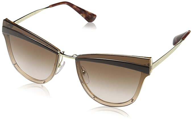 Prada 0PR 12US Gafas de sol, Pale Gold/Antique Pink, 58 para ...