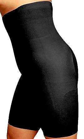 611ecbae2f67fe Body Wrap Plus Size Mid Thigh High Waist Panty Shaper – Onyx Body Bracelet  Series –