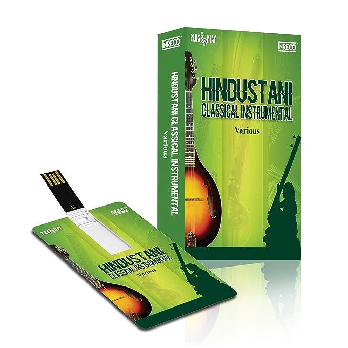 Buy MUSIC CARD :HINDUSTHANI CLASSICAL INSTRUMENTAL (320 Kbps