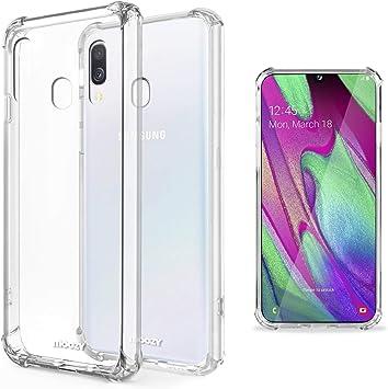 Moozy Funda Silicona Antigolpes para Samsung A40, Galaxy A40 ...