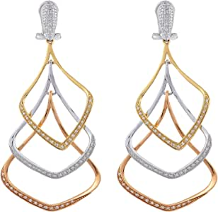 eternal Jewels Ladies 18K Mixed Drop & Dangle earrings
