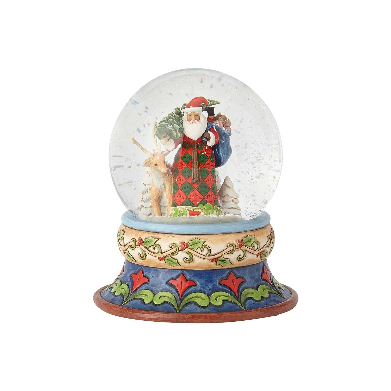 """Enesco Jim Shore Heartwood Creek """"Season of Giving 5.25"""", Snow/Globe 4058796"""