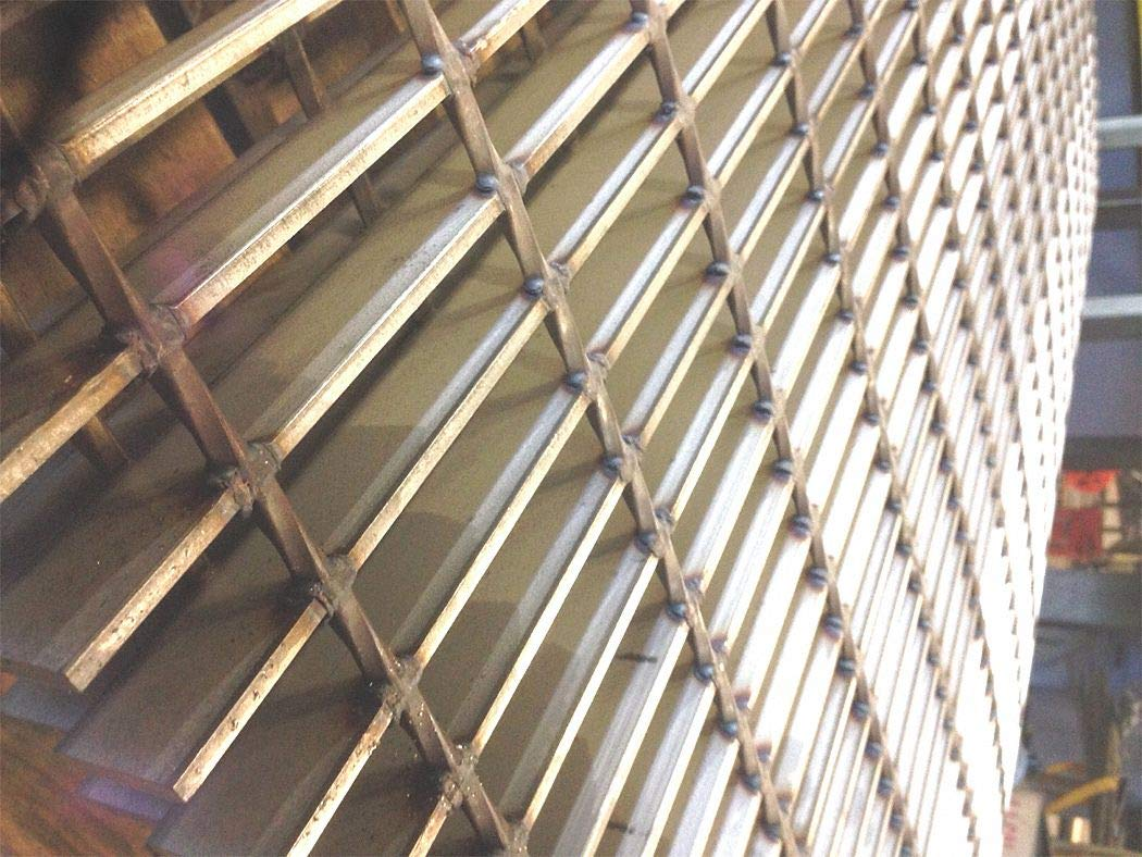 Smooth Surface Welded Grating, 24'' Span, 24'' Width, 1'' Height by DIRECT METALS