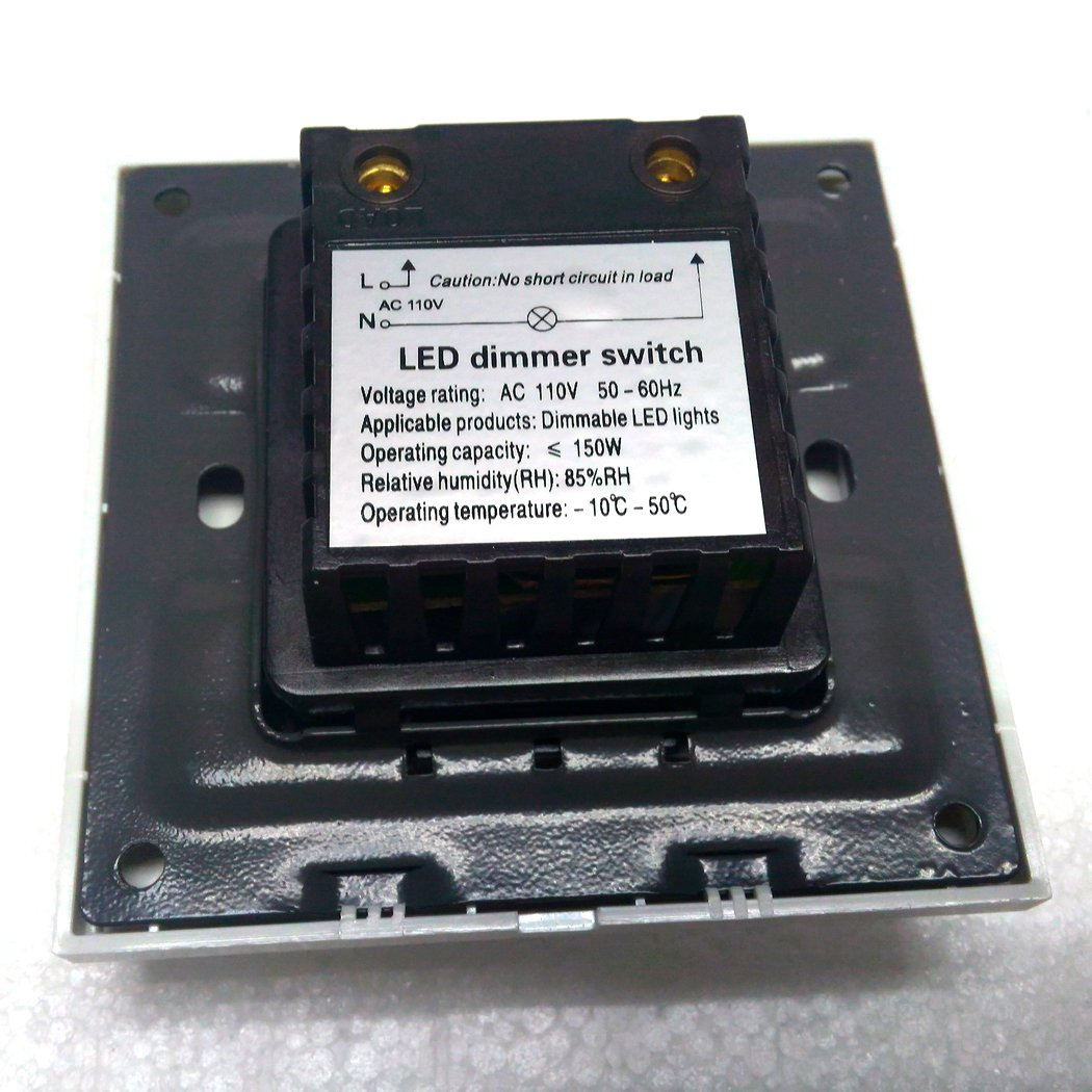 Aiboo Triac Wall Dimmer For Dimmable Led Lights 180 Degree 110v How To Build Light 150w