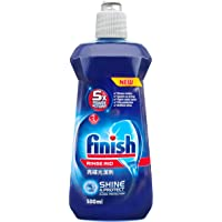 Finish Rinse Aid Liquid Dishwasher, 500ml