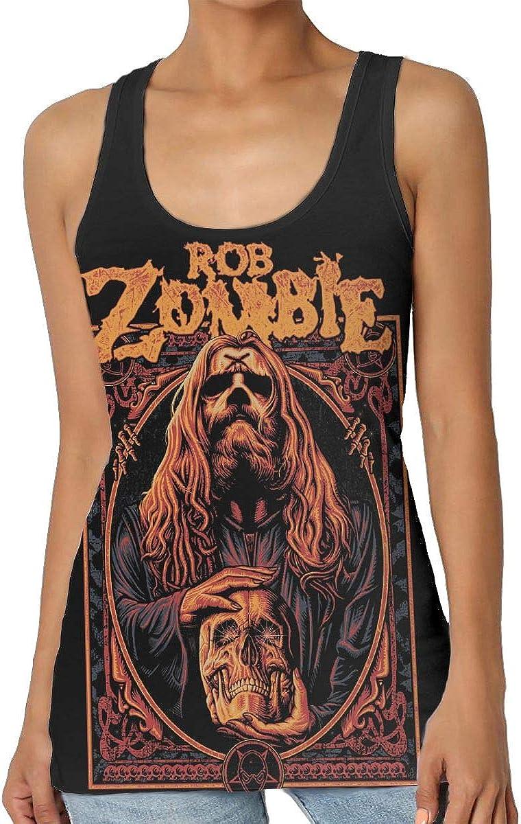LeenLznn Rob Zombie Women's Print Vest Fashion Top Vest T-Shirt