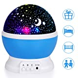 Amazon Price History for:iHomy Star Night Lights Projector for kids, Night Lighting Lamp, Rotating Star Projector, 4 LED Bulbs 8 Color Changing Modes With USB Cable, Unique Gifts for Kids/Baby