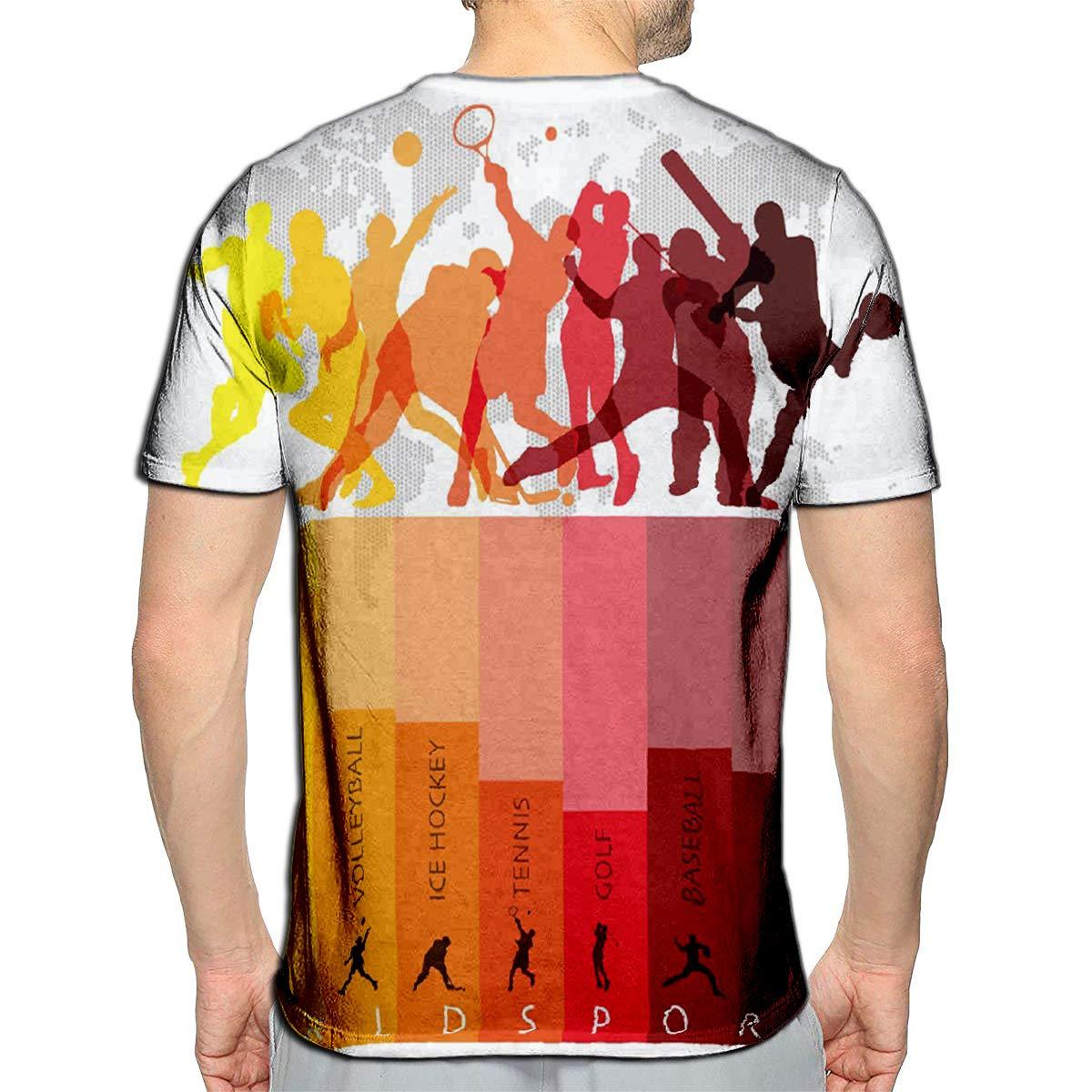 3D Printed T-Shirts Flamingo and Shapes Creative Kids Texture Short Sleeve Tops Tees