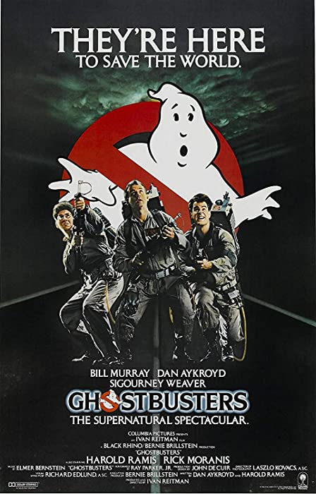 Ghostbusters Poster Movie (16 x 25 Inches - 40cm x 63cm) (1984) (Style G) Print Sticker Retro Unframed Wall Art Gifts