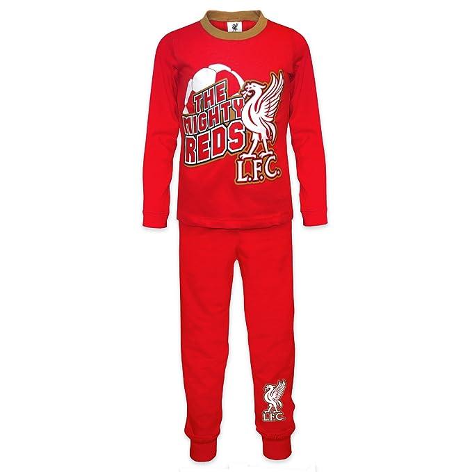 Liverpool FC - Pijama oficial para niño - Rojo - 12-18 meses