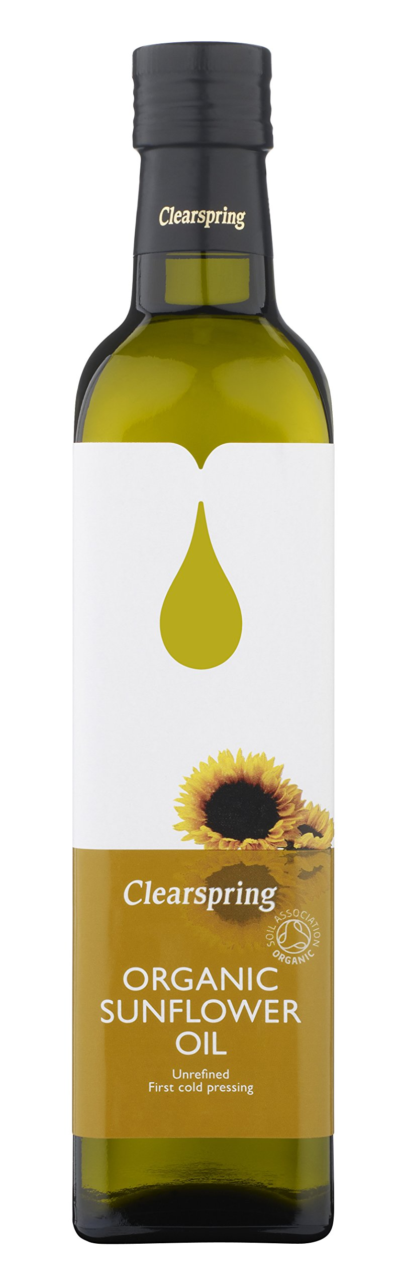 Clearspring Organic Sunflower Oil 500ml - CLS-SA105 by CLEARSPRING WHOLEFOODS