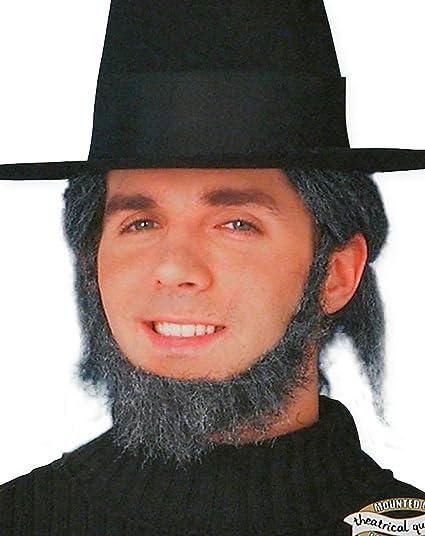 a21aad985d2 Amazon.com  Forum Novelties Grey Amish Beard  Toys   Games