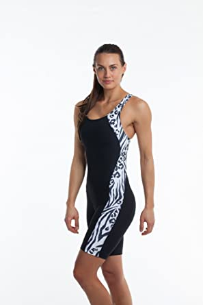 ae340ecbf64 Amazon.com: Eqswimwear Women's Glide Unitard Zeetah: Clothing