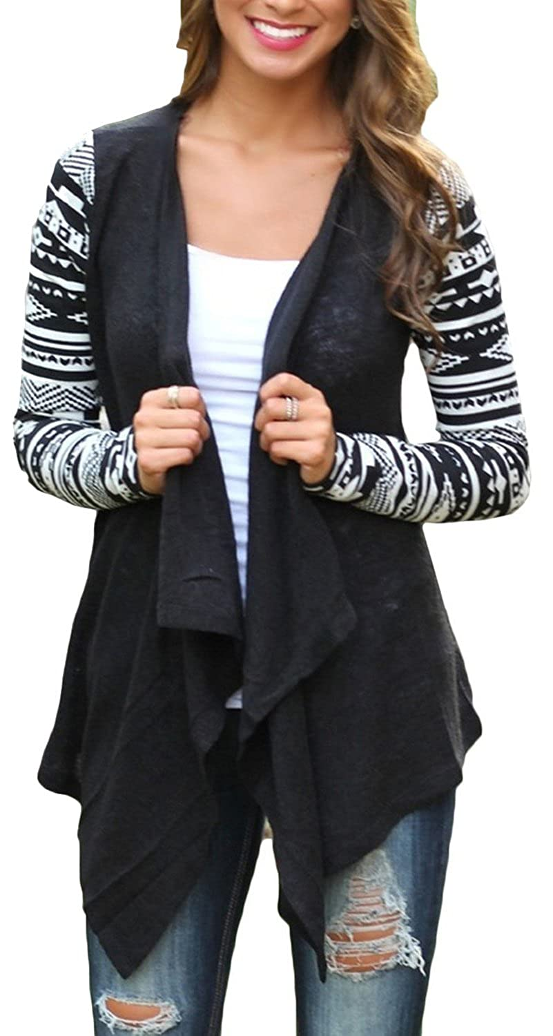 Ilishop Women's 2016 Summer High Quality Fashion Front Cable Knit Cardigan