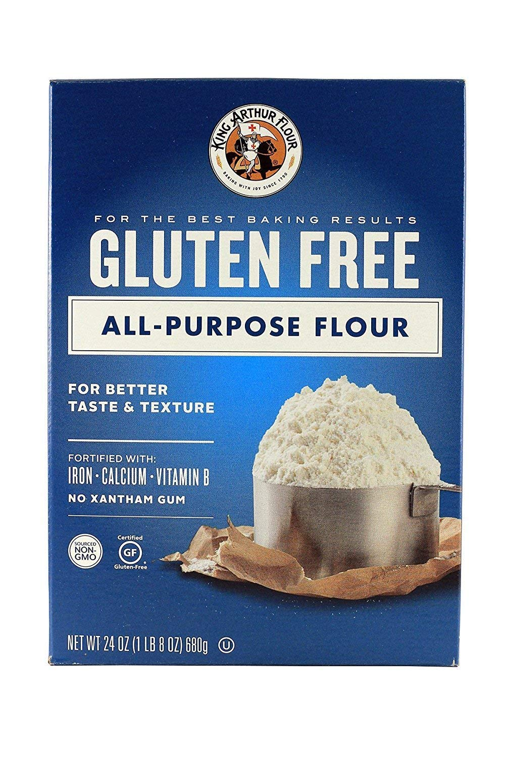 King Arthur Flour Multipurpose Flour, Gluten-Free 24 ounces (3 pack) by King Arthur Flour