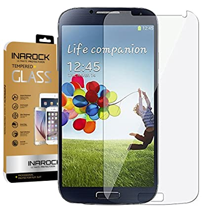 inarock 026mm 9h tempered glass screen protector for samsung galaxy s4 i337 i545 m919 i9500 amazoncom tempered glass