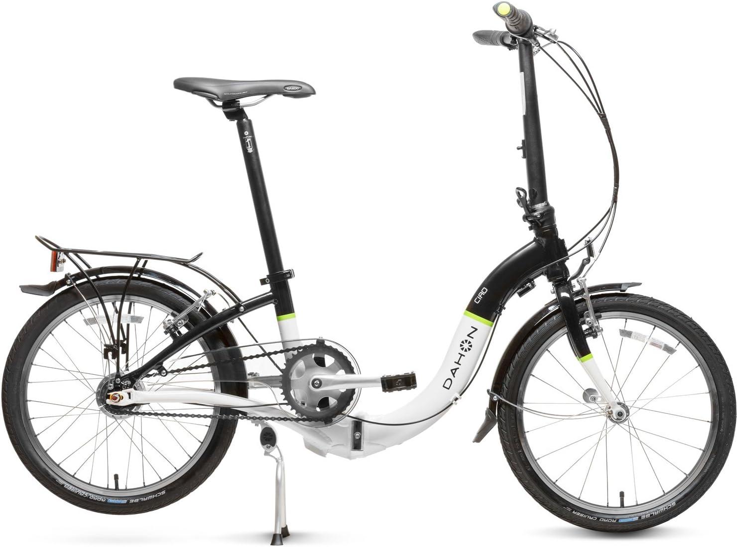 Dahon Ciao I7 Bicicleta Plegable, Unisex Adulto, Sable Frost, 20 ...