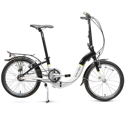Dahon Ciao I7 Bicicleta Plegable, Unisex Adulto, Sable Frost, 20