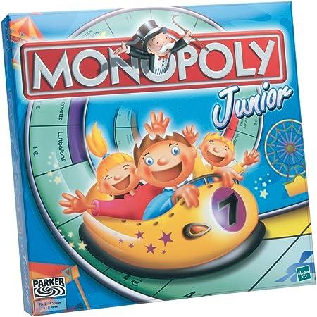 Hasbro Parker 00441100 - Monopoly Junior (versión Alemana): Amazon.es: Juguetes y juegos