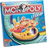 Hasbro - Parker 00441100 - Monopoly Junior, deutsche Version