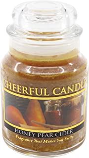product image for A Cheerful Giver Honey Pear Cider Jar Candle, 6-Ounce