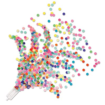 Beistle Push Up Confetti Poppers: Toys & Games