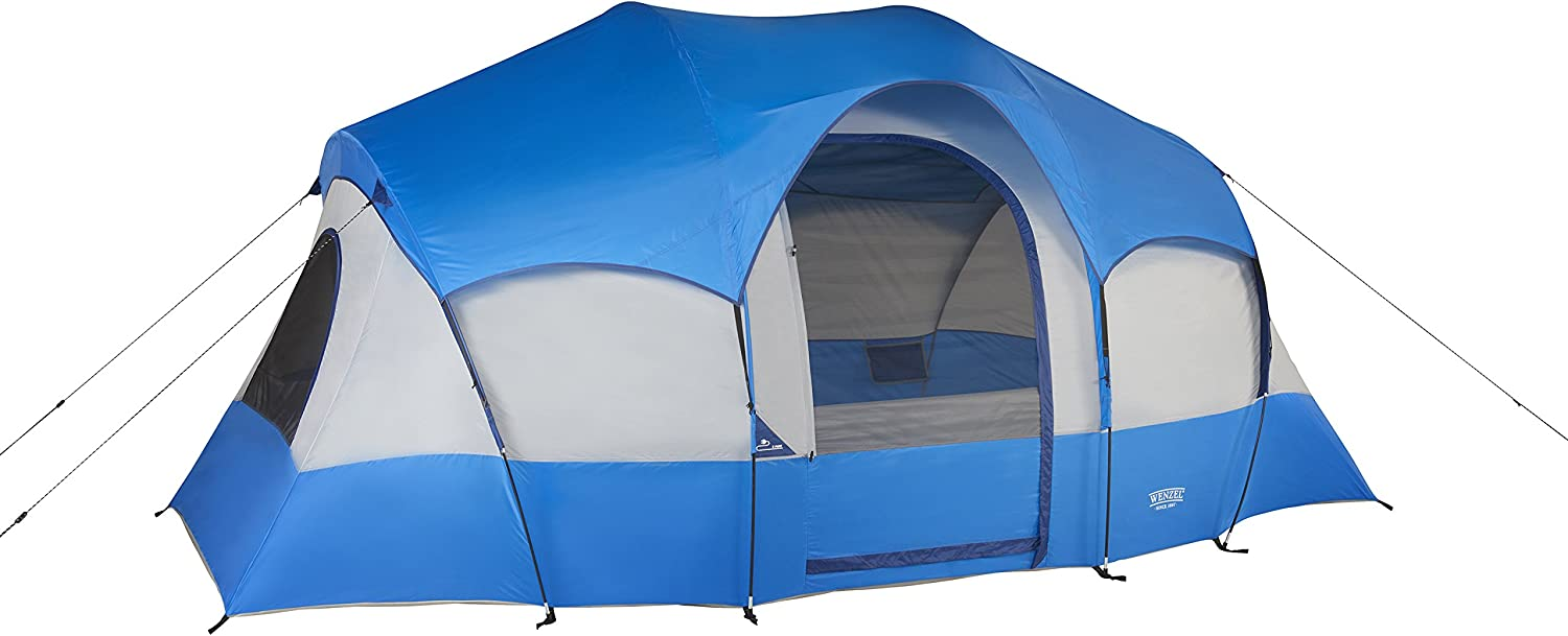 Wenzel Blue Ridge Tent, Red, 7 Person