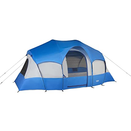 Wenzel Blue Ridge Tent Blue 7 Person  sc 1 st  Amazon.com : ridge tent - memphite.com