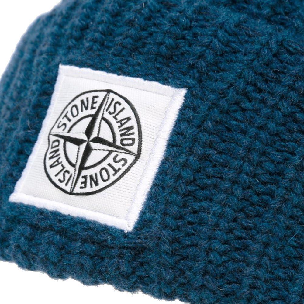 Stone Island - Gorra de béisbol - para hombre Azul azul Talla ...
