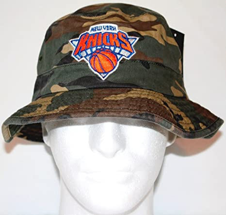 29e3b1b32a Amazon.com   New York Knicks Adidas NBA Bucket Hat - Camouflage ...