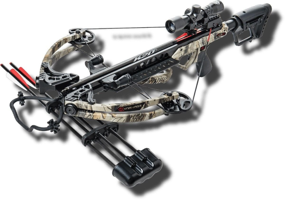 New 2018 Karnage Apocalypse Crossbow Package Model # AC82A2A2175