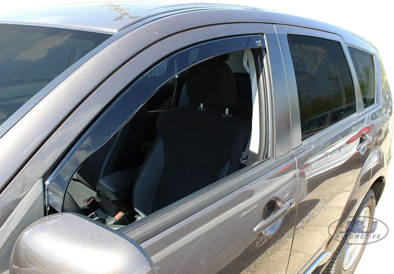 J/&J AUTOMOTIVE Derivabrisas para Mitsubishi Outlander 2007-2012 2 piezas